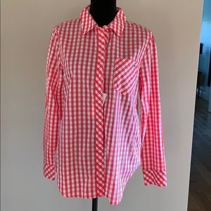 Coral Vineyard Vines Button Up